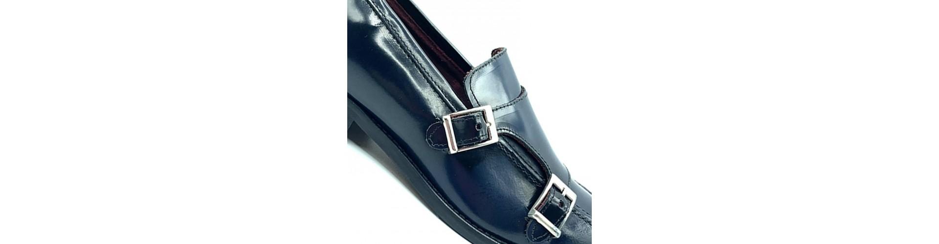 Zapatos doble hebilla para hombre